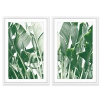 Marmont Hill Galveston 24-Inch x 36-Inch Framed Wall Art (Set of 2)