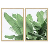 "Marmont Hill 30-Inch x 40-Inch ""Palm Bay"" Diptych Wall Art"