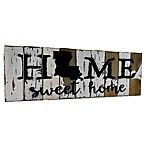 "Sweet Bird & Co. Louisiana ""Home"" Reclaimed Wood Wall Art"