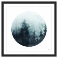 Marmont Hill Shadowy Woods 18-Inch Square Framed Wall Art