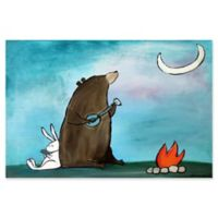Marmont Hill Campfire Songs 18-Inch x 12-Inch Canvas Wall Art