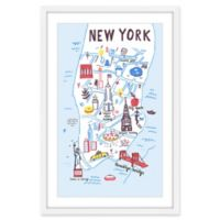 Marmont Hill That's New York 45-Inch x 30-Inch Wall Art