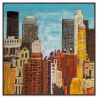 Marmont Hill Brooklyn Bridge 4 16-Inch Square Framed Wall Art