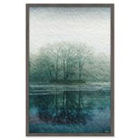 Marmont Hill Apple Lake 24-Inch x 36-Inch Framed Wall Art