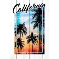 Marmont Hill Cali Palms 12-Inch x 18-Inch Wood Wall Art