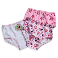 Disney® Minnie Mouse Size 2-3T 3-Pack Toddler Panties