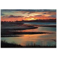 Metal Art Studio Sunset 32-Inch x 22-Inch Metal Wall Art