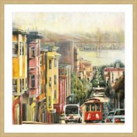 Marmont Hill Down to the Bay 12-Inch Square Framed Wall Art