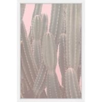 Marmont Hill Tall Cactus II 30-Inch x 45-Inch Framed Wall Art