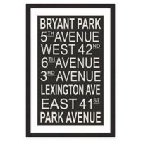 Marmont Hill Bryant Park 60-Inch x 40-Inch Wall Art