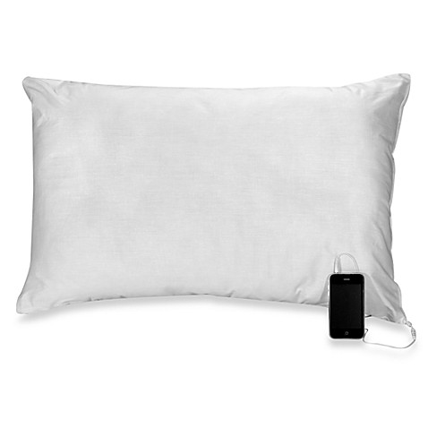 Sound Asleep® Comfort Pillow with Built-in Speaker - Bed ...