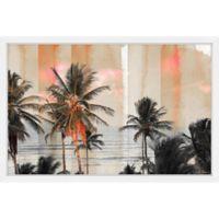 Parvez Taj Bahia 60-Inch x 40-Inch Framed Wall Art