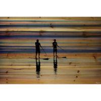 Parvez Taj Beach Surf 60-Inch 4030-Inch Pinewood Wall Art