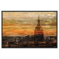 Parvez Taj Bronze Night 60-Inch x 40-Inch Canvas Wall Art with Floater Frame