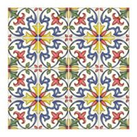 Tuscan Tile Peel and Stick Multicolor Backsplash Tiles