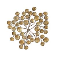 Ink + Ivy Collette Gold Metal Blooming Wall Art
