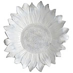 Ren-Wil Daisy Wall Decoration in Rustic White