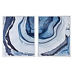 Madison Park Ethereal 29.5-Inch x 23.5-Inch Framed Canvas Wall Art (Set of 2)