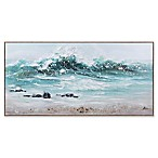 """On the Shore"" Framed Canvas Wall Art"