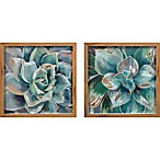 """Succulents"" 2-Piece Wall Art Set"