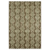 Under the Canopy by Mohawk Home Laguna Tangier 8-Foot x 10-Foot Area Rug in Taupe