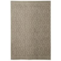 Under the Canopy by Mohawk Home Palais 8-Foot x 10-Foot Area Rug in Grey