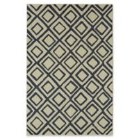 Under the Canopy by Mohawk Home Studio Montego 8-Foot x 10-Foot Area Rug in Indigo