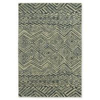"Under the Canopy by Mohawk Home Shibori Chic Mnemba 5'3"" x 7'10"" Area Rug in Indigo"