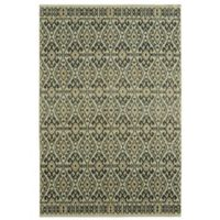 Under the Canopy by Mohawk Home Aloma 8-Foot x 10-Foot Area Rug in Denim