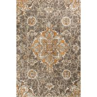 KAS Madison 5-Foot x 7-Foot 6-Inch Area Rug in Taupe/Spice