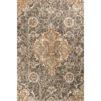 KAS Madison 7-Foot 7-Inch x 10-Foot 10-Inch Area Rug in Taupe/Spice