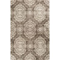 KAS Madison Sutton 3'3 x 4'11 Accent Rug in Taupe/Ivory