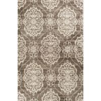 KAS Madison Sutton 5' x 7'6 Area Rug in Taupe/Ivory