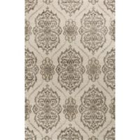 KAS Madison 7-Foot 7-Inch x 7-Foot 10-Inch Area Rug in Ivory/Beige