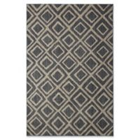 Under the Canopy by Mohawk Home Studio Montego 5-Foot 3-Inch x 7-Foot 10-Inch Area Rug in Denim
