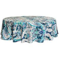 Destination Summer Tasha Indoor/Outdoor 60-Inch x 84-Inch Oval Tablecloth