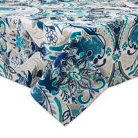 Destination Summer Tasha 60-Inch x 120-Inch Indoor/Outdoor Tablecloth with Umbrella Hole