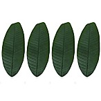 Design Imports Banana Leaf Napkin Rings (Set of 4)