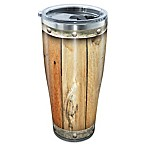 Tervis® Wood Barrel 30 oz. Stainless Steel Tumbler with Lid