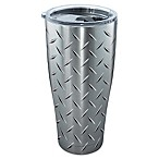 Tervis® Diamond Plate 30 oz. Stainless Steel Tumbler with Lid
