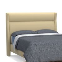 ED Ellen DeGeneres Crafted by Thomasville Melrose Queen Linen Headboard in Taupe