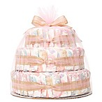 Honest® Large Diaper Cakes in Rose Blossom Pattern