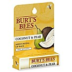 Burt's Bees® .15 oz. Moisturizing Lip Balm in Coconut and Pear