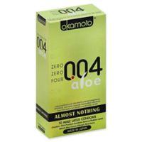 004 Aloe Zero Zero Four 10-Count Condoms