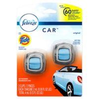 Febreze® CAR™ 2-Count .06 fl. oz. Original Scent with Tide Vent Clip Air Freshener