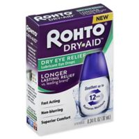 Rohto® .34 fl. oz. Dry Aid Lubricant Eye Drops