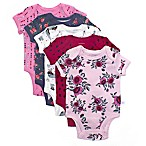 Rosie Pope Size 0-3M 5-Pack Enchanted Forest Bodysuits