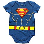 DC Comics™ Size 6M Superman Bodysuit in Blue