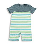 Silkberry Baby® Size 6-12M Stripes Romper
