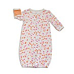 Silkberry Baby™ Size 0-3M Dots Convertible Gown